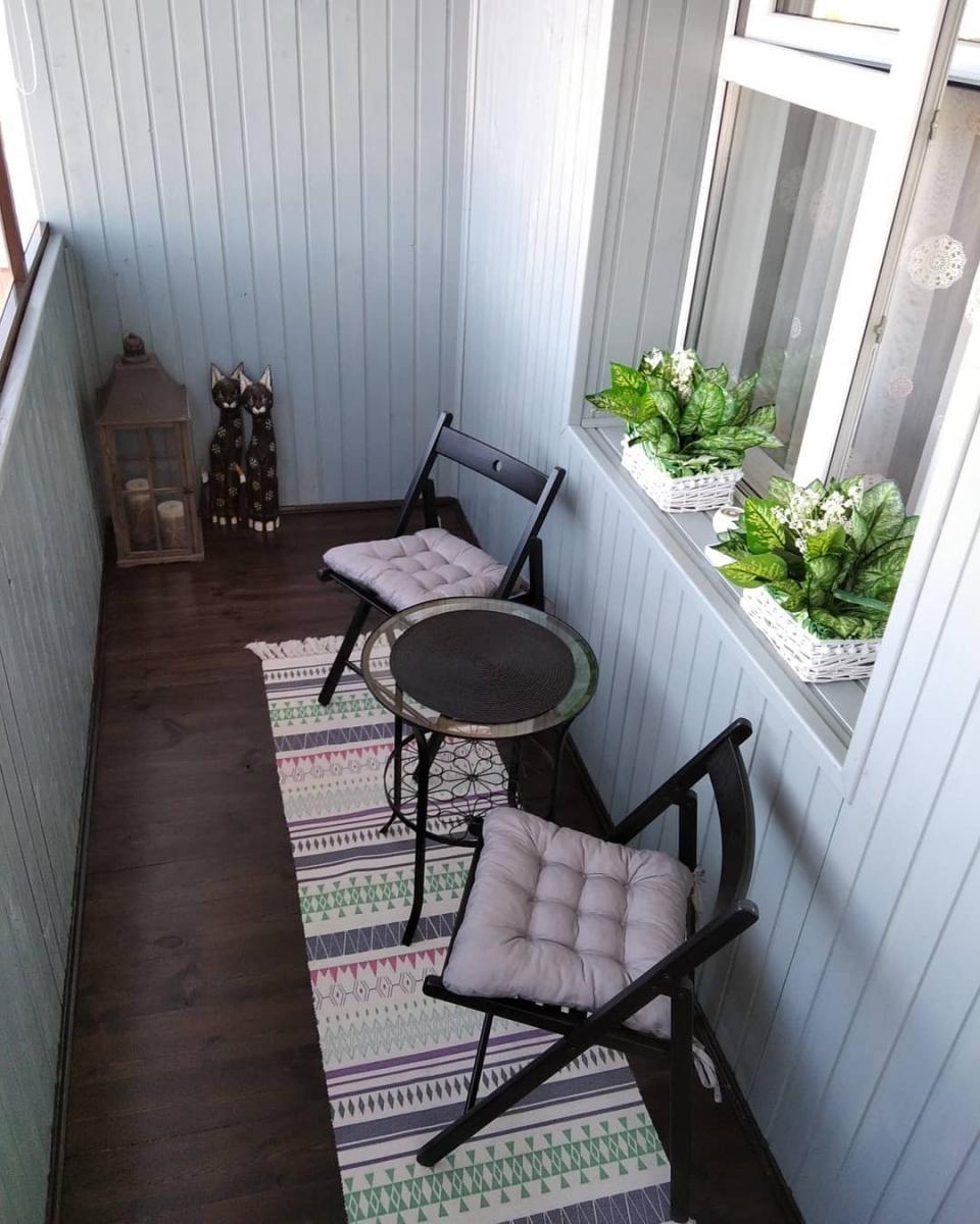 Отделка балкона 1