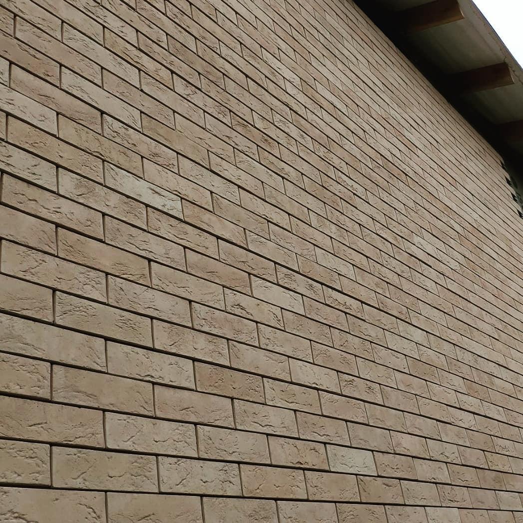 Отделка фасада. Природным или искусственным камнем 2