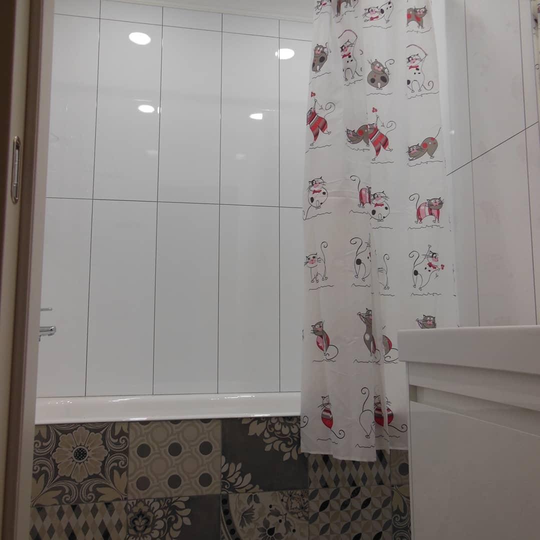 Ремонт ванной комнаты своими руками 3