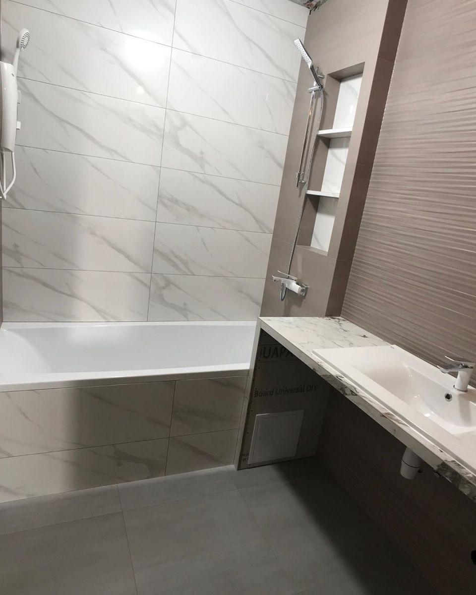 Ремонт ванной комнаты 1
