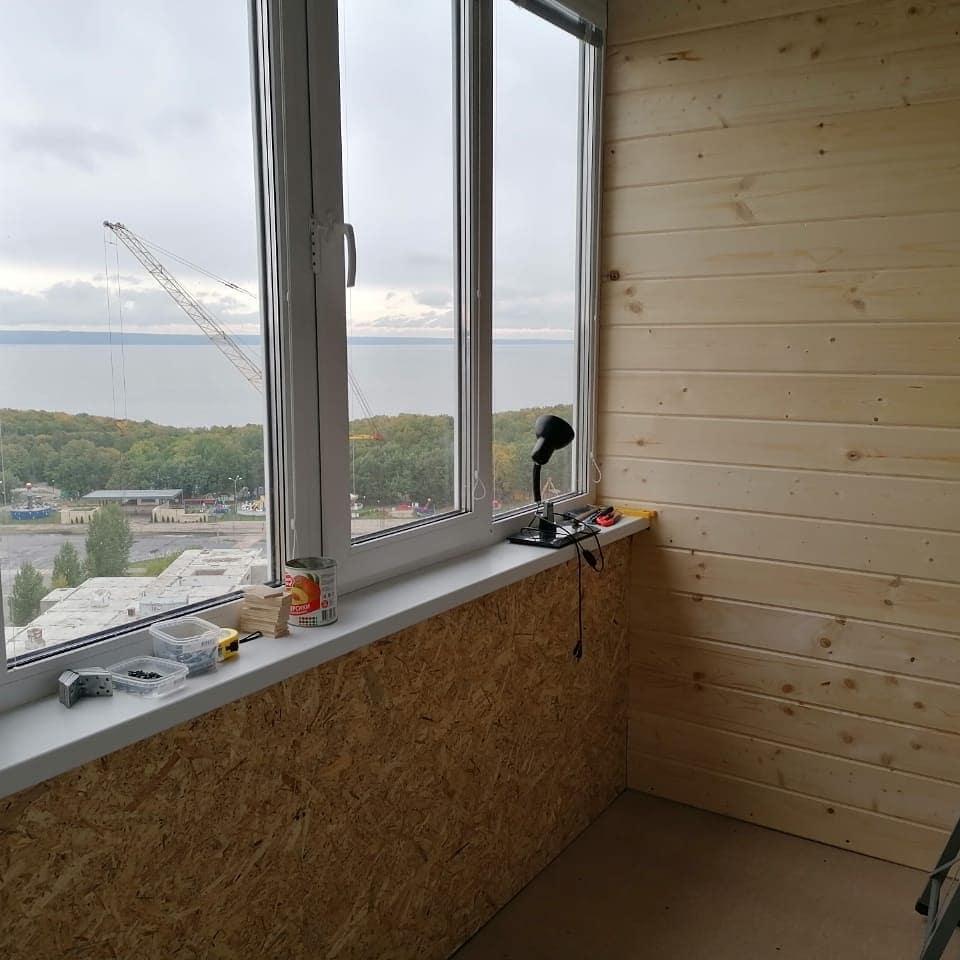 Утепление балкона 2